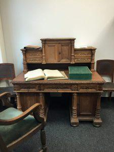 scrivania di wundt
