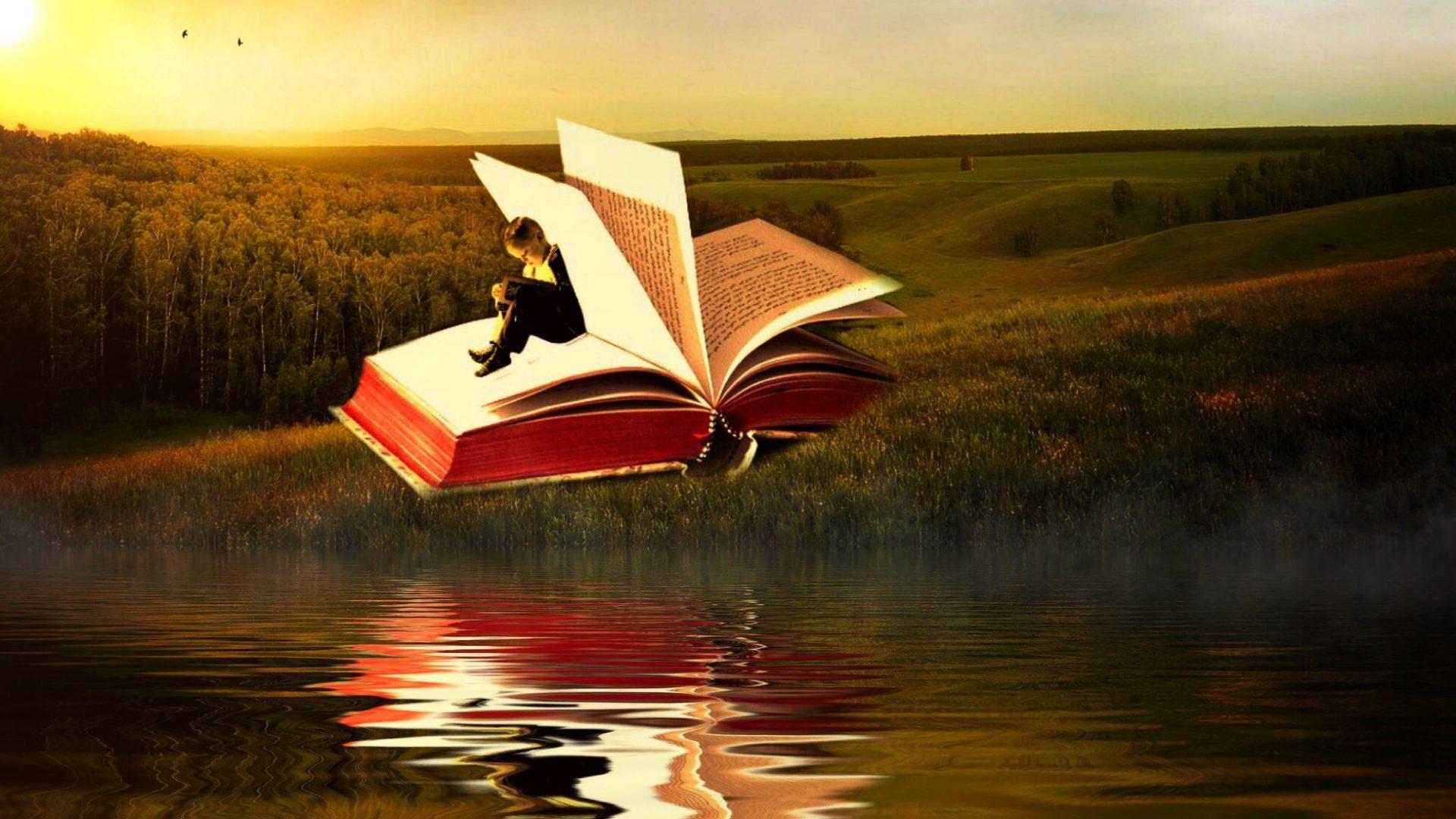 libro sul lago