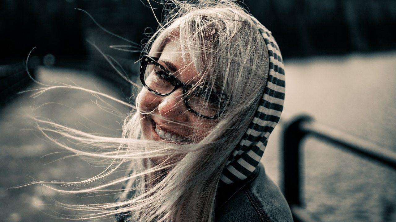ragazza sorridente