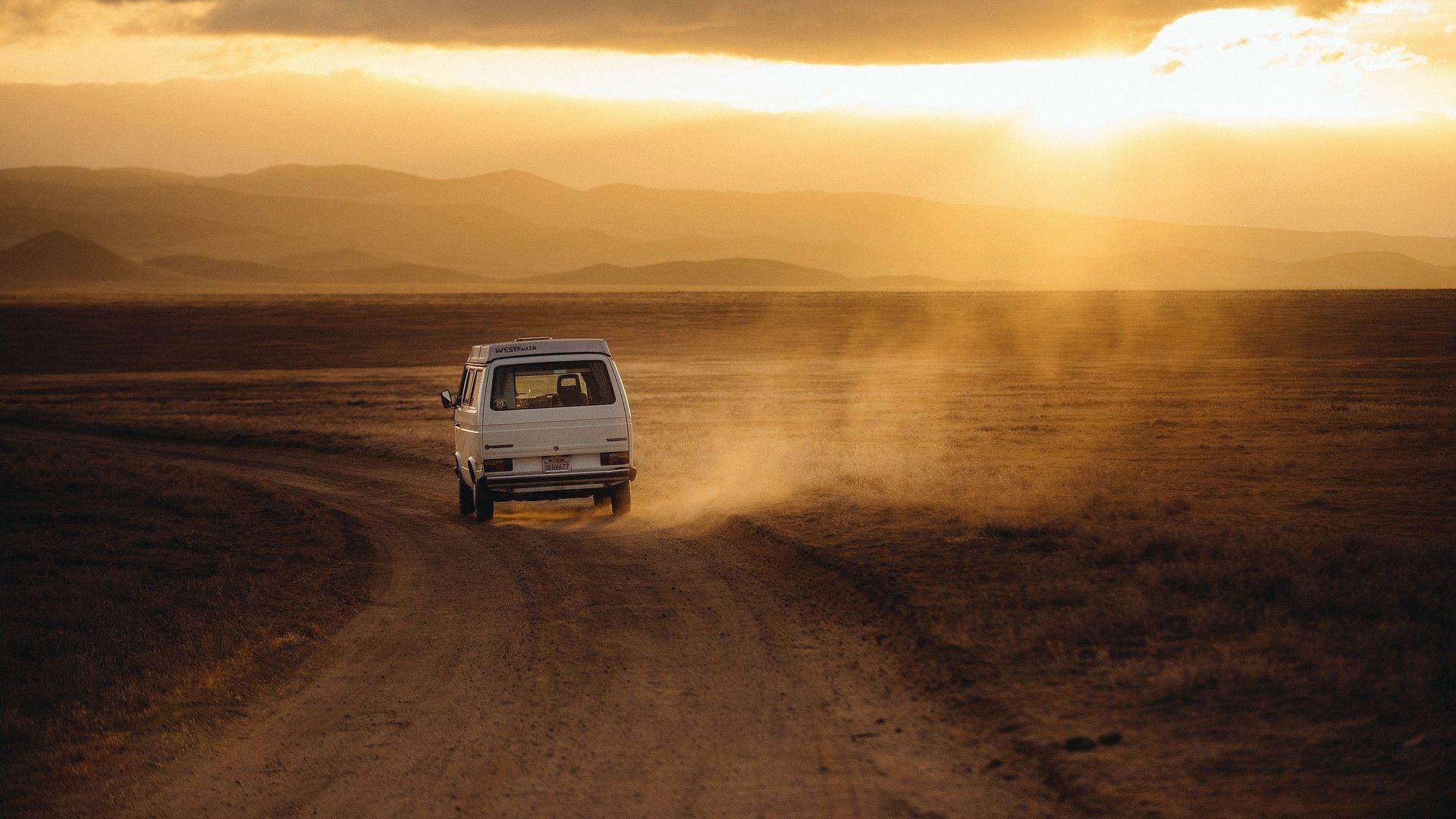 auto in viaggio