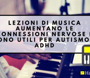 effetti musica cervello bambini