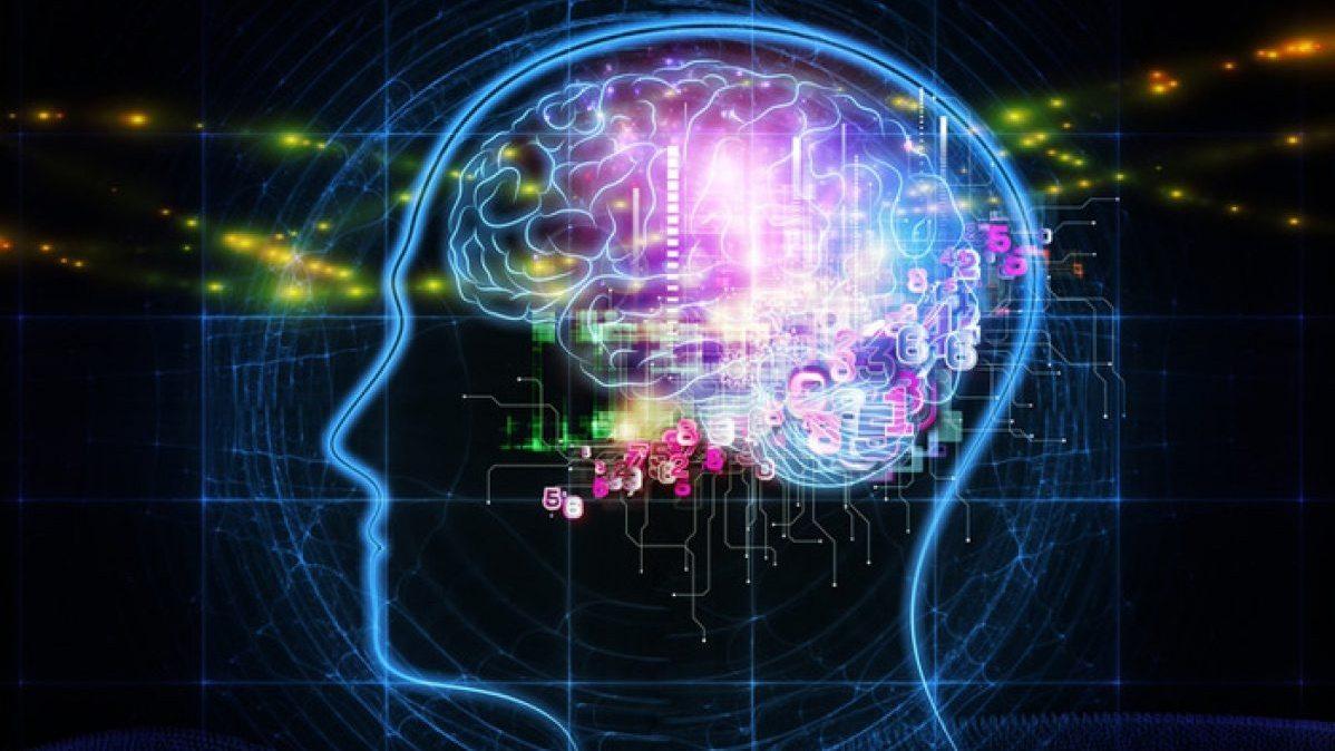 cervello luminoso