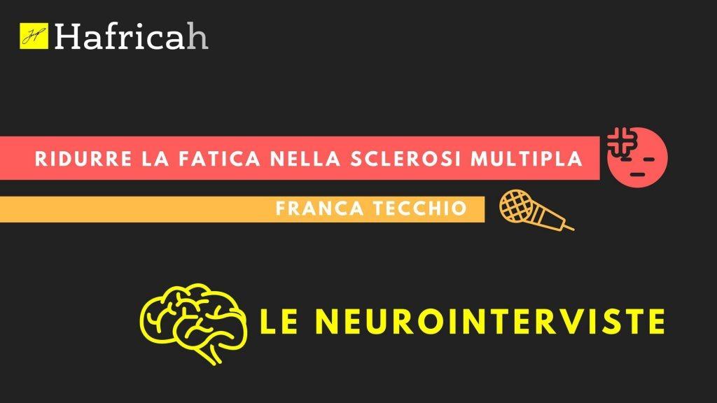 copertina intervista: sclerosi multipla, franca tecchio