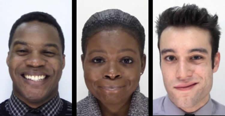 tre tipi di sorriso