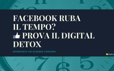 Facebook rubail tempo-Prova il digital detox