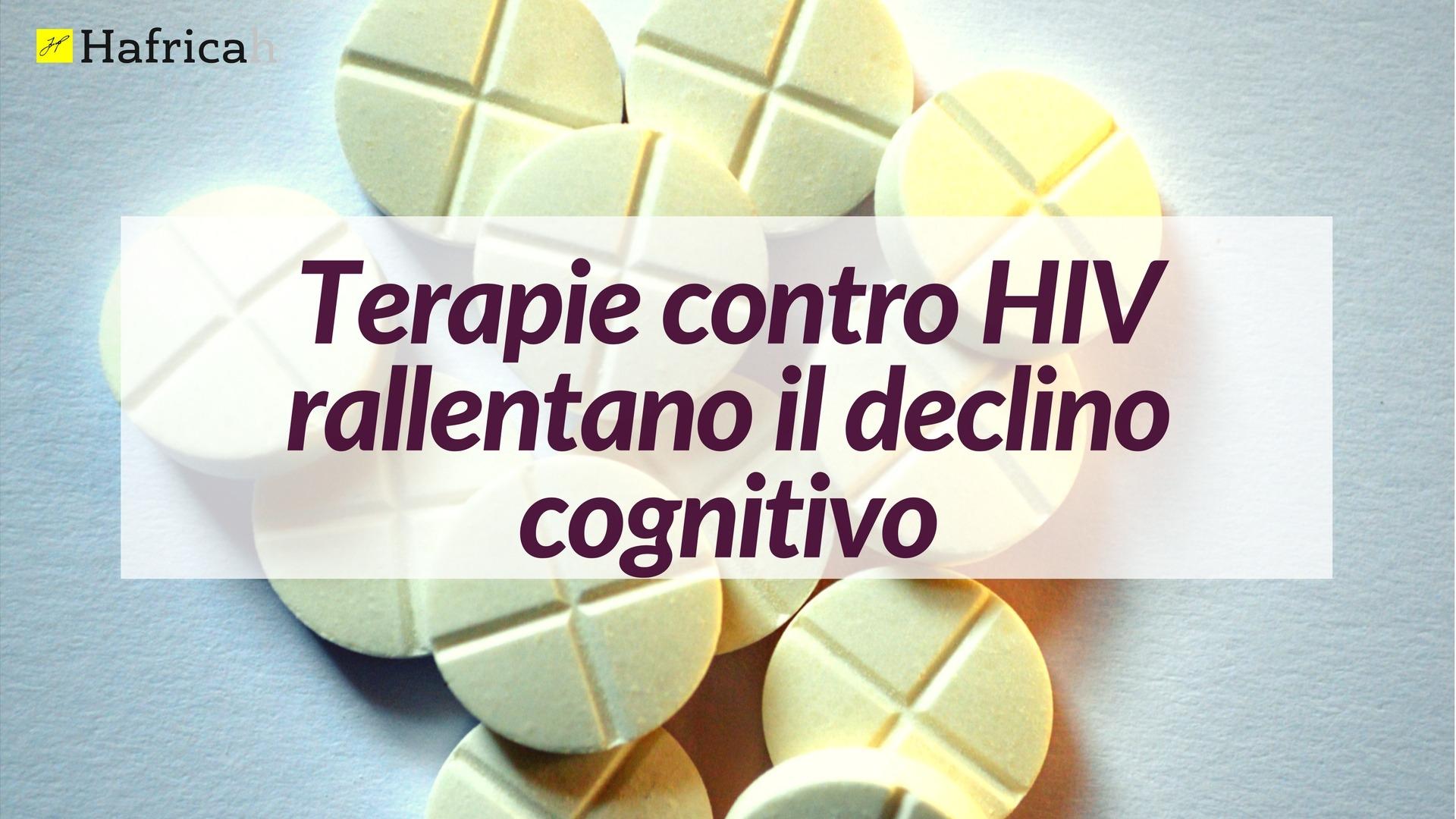terapie hiv rallentano declino cognitivo