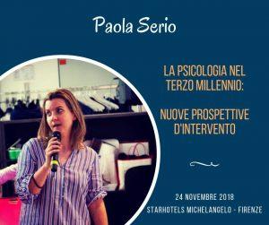 Paola Serio, psicologa