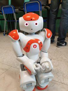Robot Nao è alto 58 centimetri ed è nato nel 2006