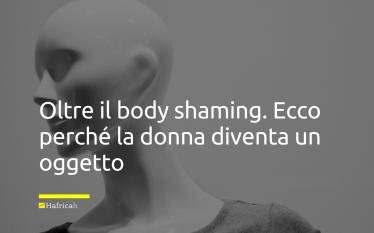 body shaming donna oggettov