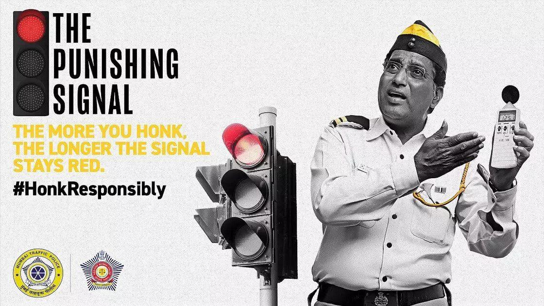 the punishing signal